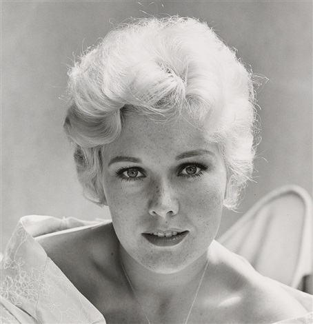 kim novak in her los angeles home by sid avery