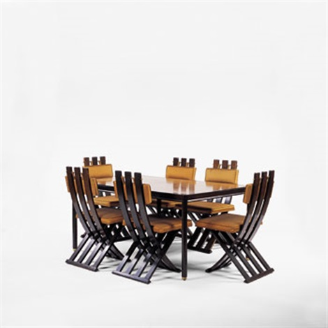 Dining Table And Chairs By Harvey Probber