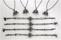 crab jewelry: