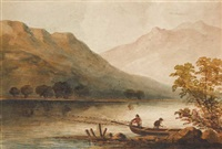 upper lake of killarney by john claude bosanquet