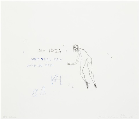 no idea by tracey emin