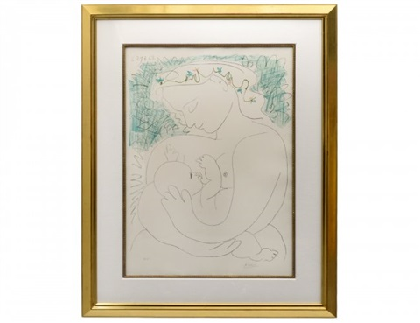 La Grande Maternite by Pablo Picasso on artnet