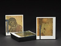 cimabue restoration project (set of 80) by christian eckart