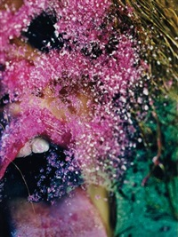 pink snow by marilyn minter