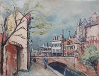 untitled by maurice utrillo