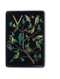tablett uccelli by piero fornasetti