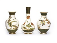 vases (pair) by wedgwood