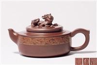 楚汉风韵壶 (a zisha teapot) by ji yishun