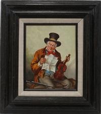 the violinist by gino testaguzza