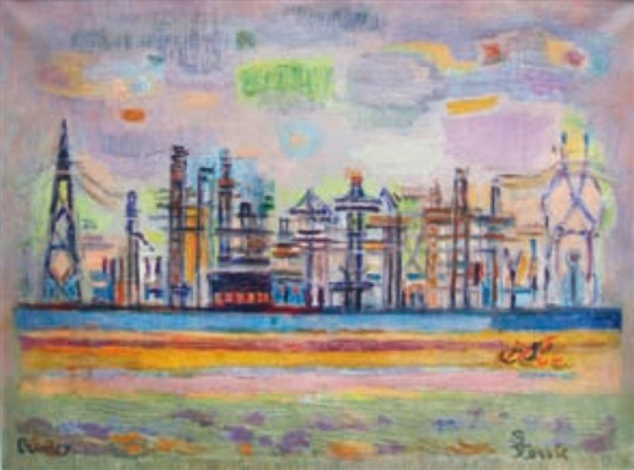 paysage industriel by suzanne tourte