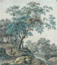 chasseur dans la forêt by jurriaan andriessen