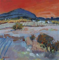 perthshire landscape by charles anderson