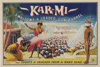 kar-mi swallows a loaded gun barrel by joseph b. hallworth