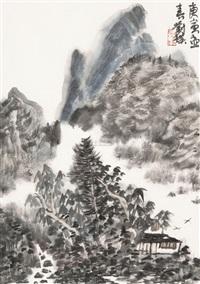 蜀中小景 by liu pu