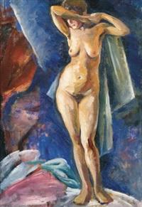 standing nude by aleksei ilych kravchenko