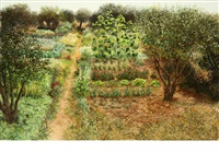 a kitchen garden by jean claude courtat