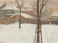 ottawa in winter by ernest george fosbery