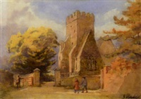 st. douloughs church near raheny by gladys wynne