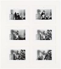 paradise regained (5 works framed together) by duane michals