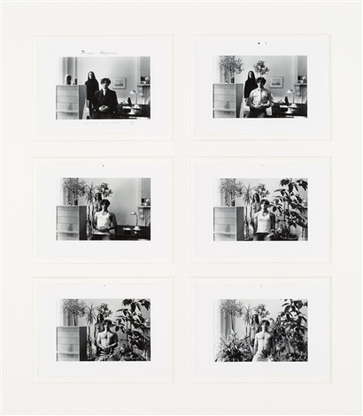 paradise regained 5 works framed together by duane michals