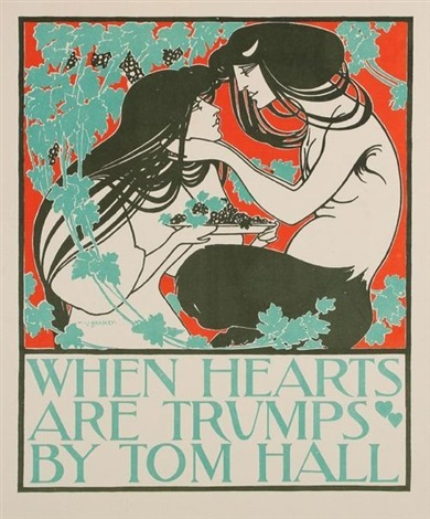 when hearts are trumps pl 52 3 others from les maîtres de laffiche 4 works by william bradley