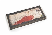sand box (red sand) by joseph cornell