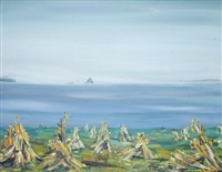 coastal scene by maria simonds-gooding