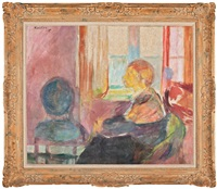 in the window by ludvig peter karsten