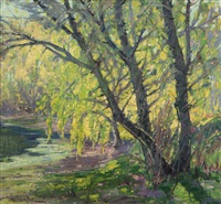 willow trees by paul lauritz