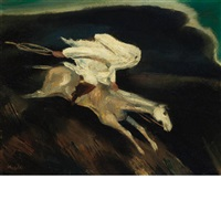 night rider by william gropper