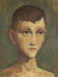 jünglingskopf by karl hofer