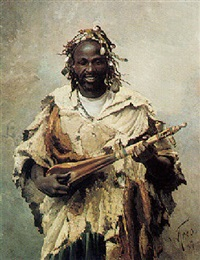 an arab musician by santiago arcos y megalde