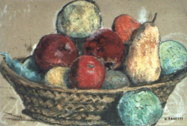 le panier de fruits by georges rasetti