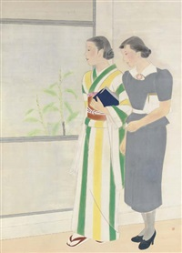 shuka (early summer) by shigeko ishida