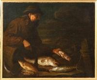 le poissonnier by nicolaes van gelder