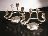 pair of candelabra by r. wallace & sons (co.)