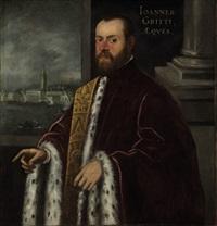 portrait of joannes gritti by domenico tintoretto