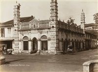 a colelction of seventy five photographs of singapore by lambert, gr. & co.