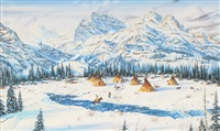 winter camp by robert macginnis