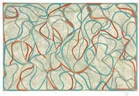 eagles mere muses by brice marden