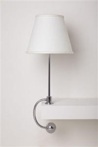 counter-balance table lamp by william lescaze