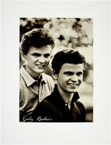 e is for everly brothers from the alphabet series by peter blake
