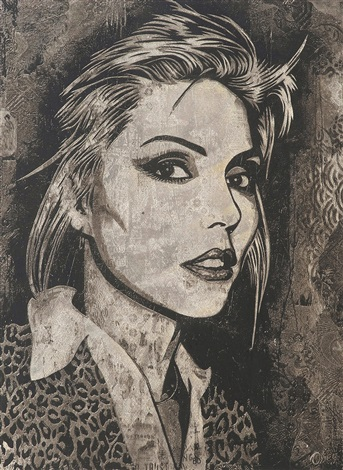 debbie harry blondie by shepard fairey