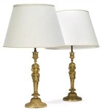 candlesticks (pair) by jean démosthène dugourc