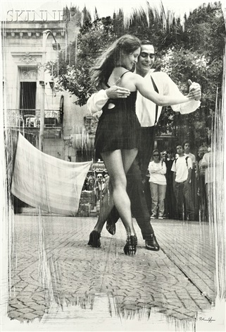 tango dancers buenos aires by paul ickovic