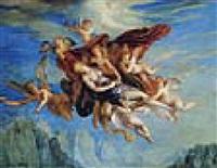 engel tragen magdalena himmelwärts by josef abel