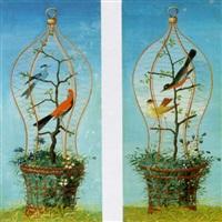 uccellini in gabbia by vittorio raineri