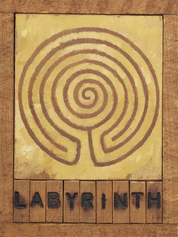 labyrinth gortyn by joe tilson