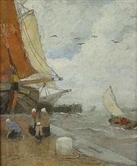 zeilboten te zeeland by henry stacquet