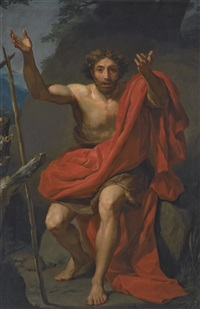 saint john the baptist by anton raphael mengs